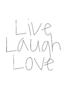 LIVE LOVE LAUGH Wall Sign, Wall Decoration, Word Art Sign, Live Love ...