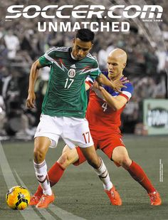 SOCCER.COM's May 2014 Cover