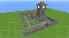 Minecraft village church