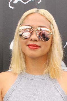39da7b390c QUAY Muse Sunglasses - Gold with Pink Lens