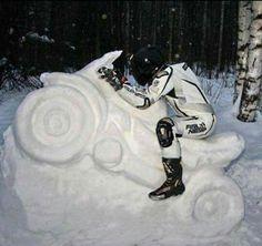 Winter dip we willen rijden ⛄
