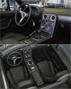 Andrea Calvo S Na Interior Topmiata Com Mazda Miata Mods, Miata Car, Custom Car Interior, Car Interior Design, Mazda Mx5, Mx5 Na, Mazda Roadster, Mustang Interior, Nissan 240sx