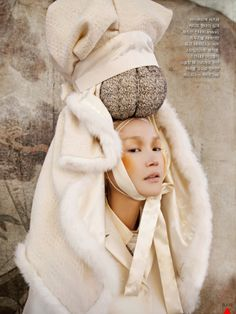 Vogue Korea January 2013 featuring Lee Hye Jung