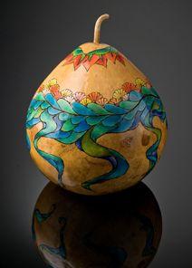 Kathleen Troutman: GOURD ART