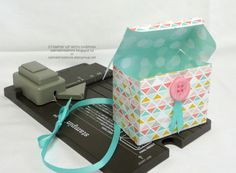 INTRODUCING the GIFT BAG PUNCH BOARD - Small Box 2