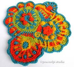 crochet scrumble squares - Google Search