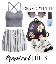 """""""Summer #2"""" by viva73319 on Polyvore featuring мода, WithChic и MANGO"""