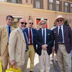stilemaschile, team, ordine cavalleresco, noveporte, giancarlo maresca, alfredo de giglio, salvatore parisi, style, gentlemen, roma, passeggiata, blazer, lino, panama
