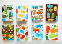 The bundle contains 8 fat quarters with Ann Kelle wonderful designs