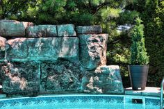 Our planters add that extra touch of greenery to your poolside!