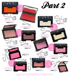 Makeup dupes look at all those ELF blushes! They are all worth trying!