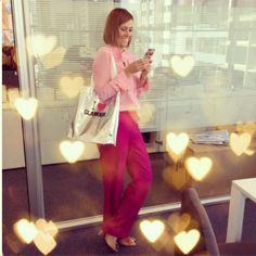 Monica Salgado - Revista Glamour - Women´s Fashion Style Inspiring Casual - Moda Feminina Inspiração