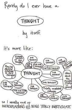 A single thought does not exist