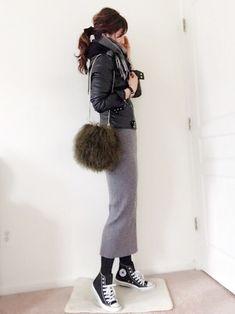 ファッション ファッション in 2020 Fashion Mode, Japan Fashion, Look Fashion, Daily Fashion, Girl Fashion, Womens Fashion, Chic Outfits, Fall Outfits, Fashion Outfits