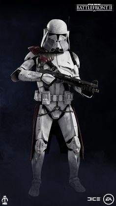 Star Wars Characters Pictures, Star Wars Pictures, Star Wars Images, Star Wars Clone Wars, Star Wars Art, Guerra Dos Clones, Wrestling Stars, Galactic Republic, Clone Trooper