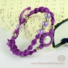 DIY Macrame Double Bracelet by wanting