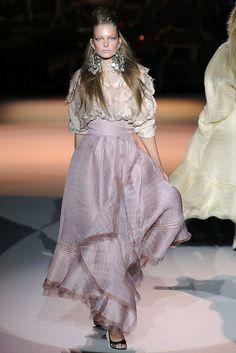 Zac Posen Spring 2009 Ready-to-Wear Fashion Show - Eniko Mihalik