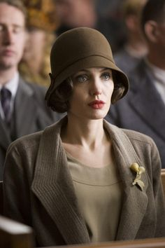 Angelina Jolie in Changeling. One of the best movies in several years.