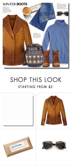 """""""day-off"""" by bynoor ❤ liked on Polyvore featuring Williams-Sonoma, GUESS and winterboots"""