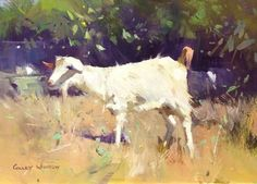 Colley Whisson     I'm Not Kidding Around, Greece Oil 7'' x 10''