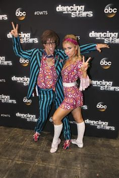 Paige and Mark. Famous dances night