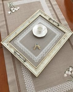 # our tray is on display, sir, we wait for tea☕️☕️☕️☕️ Romantic Home Decor, Unique Home Decor, Bathroom Candles, Victorian Fabric, Interior Room Decoration, Doilies Crafts, Kinds Of Fabric, Target Home Decor, Westerns