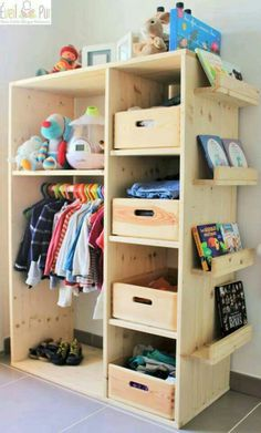 Placid repaired children's room decor ideas World Exclusive Kids Decor, Diy Home Decor, Decor Ideas, Diy Ideas, Decorating Ideas, Diy Casa, Kids Wardrobe, Wardrobe Design, Baby Wardrobe Ideas