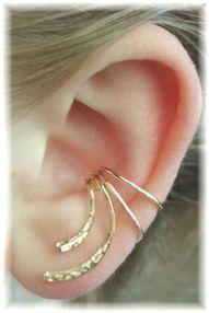 curved ear wrap