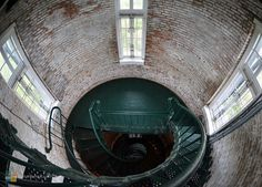 An interior view of the beautiful Currituck Beach Lighthouse Corolla Outer Banks, Outer Banks Nc, Visit North Carolina, Ocracoke Island, Unc Chapel Hill, Vintage Nautical, Great Smoky Mountains, Island Beach