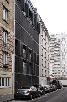 Paris, Rue des Suisses. Herzog & De Meuron