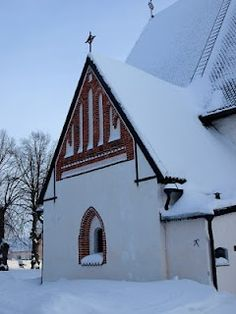 Porvoo Cathedral - Finland www. Travel Around The World, Around The Worlds, Grave Monuments, North Europe, Lappland, Christmas Town, Winter Scenery, Winter Travel, Travel And Leisure