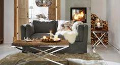 Eleganter Country Chic im Landhaus-Wohnzimmer