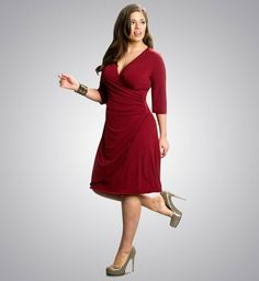 Image Detail for - Plus Size Red Dress | Plus Size Red Cocktail Party Dresses | Plus Size ...