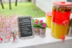 Comment réaliser un bar à limonade pour un cocktail ou un barbecue