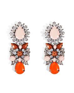 Shop now: SHOUROUK Blondie Caramel Earrings