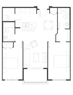 Peterson Landing New Apartments for rent in Kamloops on Summit Drive, Sahali Home Design Plans, Apartments, Landing, Floor Plans, House Design, Group, How To Plan, Type, Bedroom