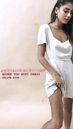 3c86e7f425467 15 Best THE MARGO MINI DRESS - WHITE images