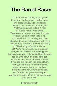 barrel racer poem Barrel Racing Quotes, Barrel Racing Tips, Barrel Racing Horses, Barrel Horse, Rodeo Quotes, Equine Quotes, Equestrian Quotes, Pet Quotes, Random Quotes