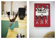 Reko Rennie, Artist, Melbourne : Where They Create by Paul Barbera