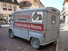 Citroën HY camionnette. Restaurant S'Ochsestuebel.