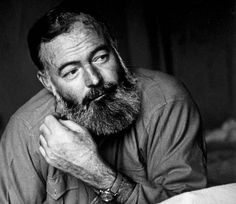 This is one of my favorite photographs of Ernest Hemingway.