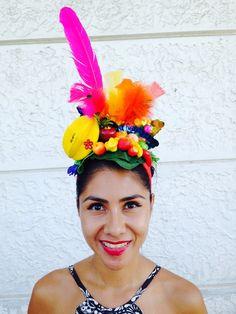 Folia da Carambola  #carmemmiranda #tiara_carnaval #fashion #tiaracarmemmiranda #tiara #carnaval #carmen_miranda #carmen_miranda_inspired