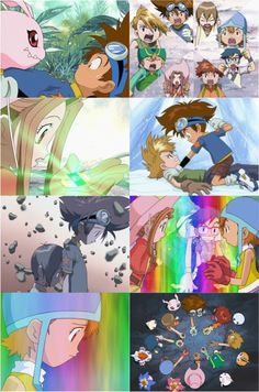 "Day 9 - A kids' anime: DIGIMON ADVENTURE ""I don't know... my mom said never to take candy or rope from strangers."""