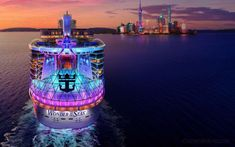 Royal Caribbean ha confirmado hoy que Shanghai y Hong Kong serán los puertos base del Wonder of the Seas cuadno sea inaugurado en 2022. Estos son los detalles de fechas e itinerarios. Ishigaki, Kagoshima, Kumamoto, Fukuoka, Royal Caribbean, Miyazaki, Busan, Okinawa, Osaka