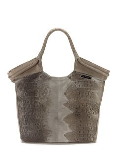 Croco Embossed Tote by L.A.M.B. on Gilt.com