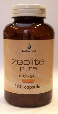 ZEOLITE PURA attivata 180 CAPSULE ------- NUOVO -------- in capsule VEGETALI