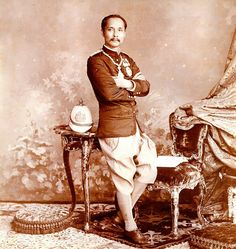 King Chu-la-long-korn or King Rama V of Siam (Thailand).
