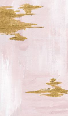 Pink blush gold watercolour paint brush stroke abstract iphone phone wallpaper background lock screen