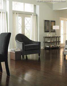 Anderson Floors Hermosa Plank Engineered Kupay Hardwood Flooring in Raisin Hardwood Flooring Prices, Engineered Hardwood, Hardwood Floors, Flooring Companies, Flooring Options, Dark Furniture, Floor Design, Home Decor Trends, Home Projects