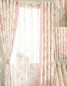 Cortinas Shabby Chic, Baños Shabby Chic, Shabby Chic Zimmer, Shabby Chic Curtains, Shabby Chic Bedrooms, Shabby Chic Kitchen, Shabby Chic Homes, Shabby Vintage, French Vintage